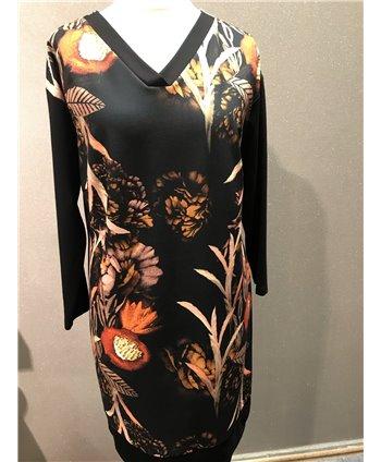 Livello fekete őszies ruha