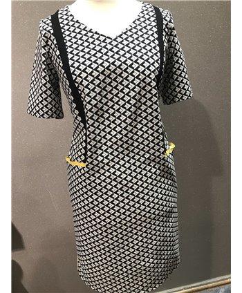 Livello fekete sárga ruha