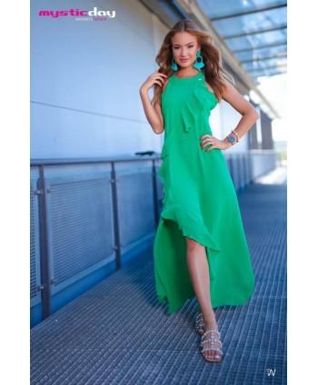 Mystic Day hosszú zöld ruha